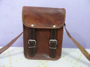 Genuine Leather Cross-body Bag Satchel Handbags Messenger Sling Bags 9 In Mini