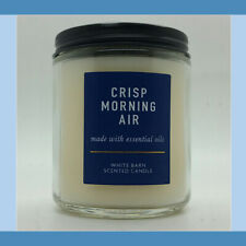 Bath And Body Works White Barn Crisp Morning Air Single Wick Candles New 2020