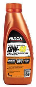 Nulon Semi Synthetic High Performance Engine Oil 10W-40 1L SEM10W40-1 fits Gr...