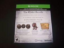 Elder Scrolls Online Tamriel Unlimited Xbox One Explorer's Pack DLC Code