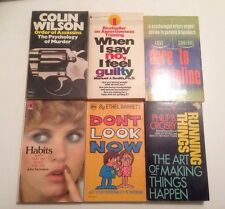 Self-Help/ Psychology Book Lot | The Psychology Of Murder, Habits, And More. H