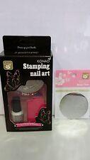 1 EXTRA design plate + Konad Nail Art Stamping Kit (stamp,scraper,1plate,1polish