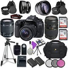 Canon EOS 80D 24.2MP CMOS Full HD Wi-Fi Enabled Digital SLR Camera