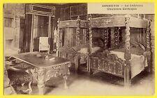 cpa Rare 71 - CHÂTEAU de CORMATIN (Saône et Loire) CHAMBRE GOTHIQUE Gothic Room