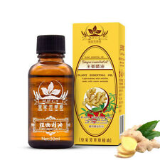 2019 Aromatherapy Essential Oils Natural Pure Organic Drainage Ginger Oil 100%