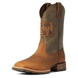 Ariat Men's Hybrid Patriot Country Western Boot