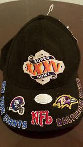 Baltimore Ravens NFL Football Super Bowl XXXV Vintage HAT Embroidered 2001