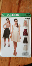 NEWLOOK pattern 6327 Misses Skirt in 4 styles size A 8-20 (Euro 34-46)