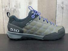 Five Ten 5.10 Guide Tennie Hiking Climbing Shoes Women's Size 6.5 Gray Black