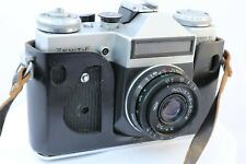 3MOSHVA–80 ZENIT -E 35mm SLR. W. INDUSTAR-50-2 3.5/50MM Lens.