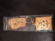 Saint Seiya Virgo Shaka Pandora Box Keychain High Quality Plating & Polishing