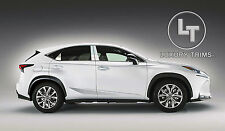 Lexus NX Stainless Steel Chrome Pillar Posts by Luxury Trims 2015-2016 (6pcs)