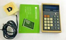 1975 LLOYD'S Accumatic 310 Series 255B Calculator AC Adaptor and Instructions