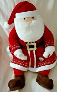"Hallmark Polar Express Santa Claus Talking Soft Plush 18"" Tall Doll Jingle Bell"