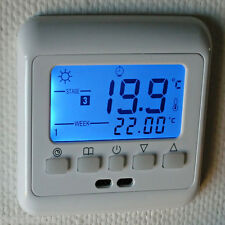 Digital LCD Programmable Thermostat Room Floor Heating BYC08.H3 16A 0.5°C / step