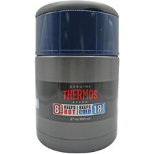 Thermos 27 Oz isolada a vácuo para alimentos em aço inoxidável Jar-Fumaça