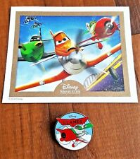 Disney Pixar Planes Collector's Pin w/Certificate of Authenticity - New -Rare