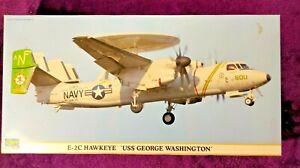 Hasegawa 1:72 E-2C Hawkeye 'USS George Washington' Model Kit 00975 *SEALED BAGS*