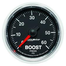 UNIVERSIAL DODGE FORD CHEVY AUTO METER 3805 GS SERIES BOOST GAUGE..