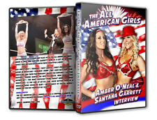 Amber Oneal & Santana Garrett Shoot Interview DVD, wrestling TNA Shimmer SHINE