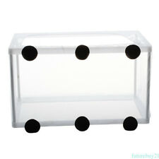White Breeding Net Box Fish Aquarium Fish Tank Net Breeder Isolation  Aquarium