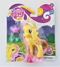 My Little Pony G4 Fluttershy 2012 Crystal Empire Tinsel Hair MOC - Wow!