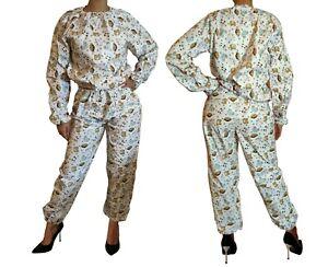 PVC Sweatsuit 20021D Sewn Sauna Suit 2tlg Pyjamas Print adult diaper Abdl