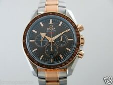 Omega Speedmaster Broad Arrow 1957 Chronograph 42mm Rose Gold & Stainless Steel