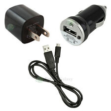 New Wall Charger+Car+Usb Cable for Android Phone Samsung Galaxy S3 S4 S5 S6 S7