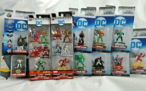 """Nano Metalfigs DC Comics Die-Cast Figures Set 1.65"""" Die"""
