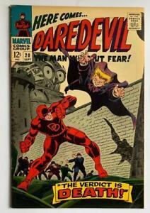 Daredevil #20 Silver Age issue. (Marvel 1966)