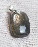 pendentif cabochon pierre naturelle Pierre de soleil 18 carats Inde  BF60