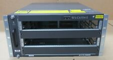 CISCO CATALYST 6500 Series WS-C6504-E 4-SLOT CHASSIS MODULARE 2 x PWR-2700-AC/4