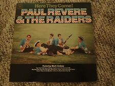 Paul Revere and the Raiders, LP, Here They Come, Columbia 2307, 1965