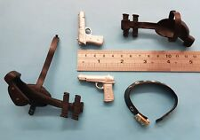 1/6 scale Tomb Raiders Lara Croft's Pistols + belt weapon gun for 12 inch figure