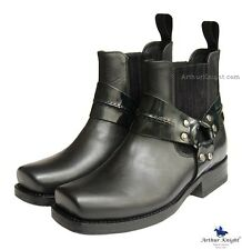 *NEW* SANCHO WOMENS COWGIRL BOOTS 6 Ladies Chelsea Shoes In Black