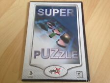 SUPER PUZZLE - STRATEGY/ARCADE GAME - NEW & SEALED PC CD ROM - WINDOWS - RARE