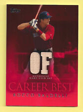 Rocco Baldelli 2009 Topps Career Best  Game Used Bat