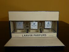 Vintage Mini Set of 3 Lanvin Perfume Bottles My Sin, Pretiexte & Arpege