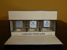 Vintage Mini Set of 3 Lanvin Perfume Bottles My Sin, Pretiexte & Arpege