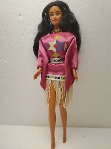 Third edition Native American Barbie Doll 3rd edition