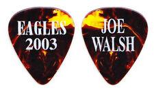 Eagles Joe Walsh Brown Faux Tortoise Guitar Pick - 2003 Farewell I Tour