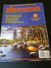 THE BACKWOODSMAN MAGAZINE Vol.36 #2 MARCH/APRIL 2015.