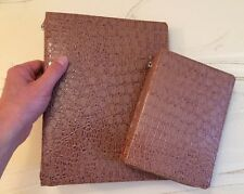 $45, TAN VANILLA GATOR DELUXE MAG FOLDER & BIBLE COVER, Jehovah's Witness