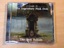 MINT & Sealed !! Legendary Pink Dots/A Guide Vol 1 : The Best Ballads/2003 CD