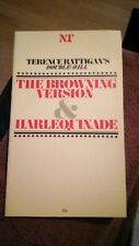 The Browning Version & Harlequinade by Terence Rattigan NT Theatre Programme '80