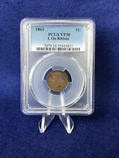 1864  L ON RIBBON VARIETY INDIAN HEAD CENT 1c PENNY  *PCGS VF30 VERY FINE*