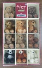 ANIMAL ALLEY A CENTURY OF BEARS COLLECTION PLUSH TEDDY BEARS - NEW