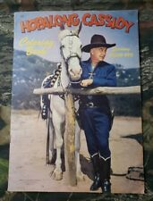 Unused Hopalong Cassidy Coloring Book Abbott Rare Cover William Boyd Vintage