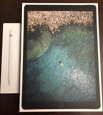 Apple iPad Pro 2nd Gen, 256GB, Wi-Fi, 12.9in Bundle w/ Pencil and Otterbox Case